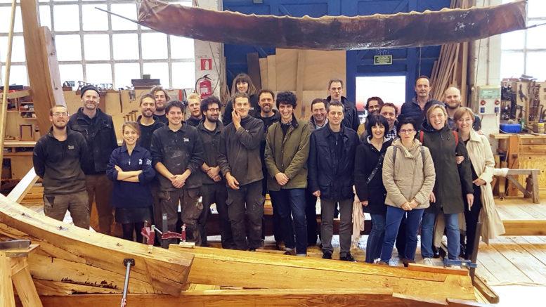 PIHER visits Albaola Boatbuilding Carpentry Scholl